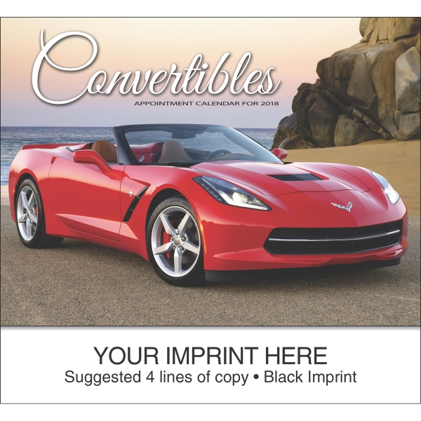 Personalized Convertible Cruisin' appointment calendar