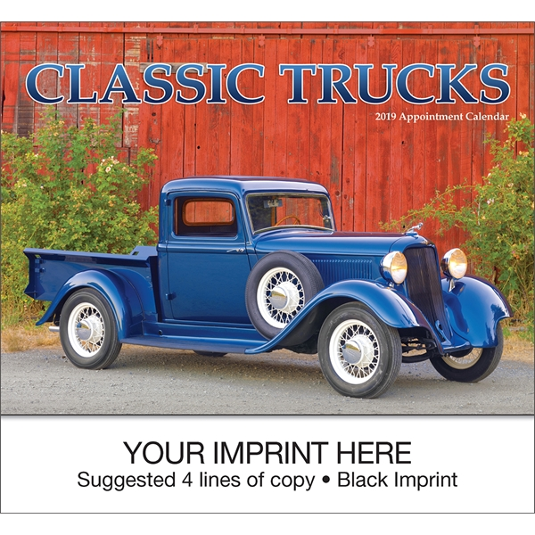Promotional Classic Trucks appointment calendar
