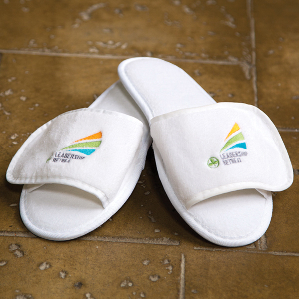 Custom Velour Spa Slipper