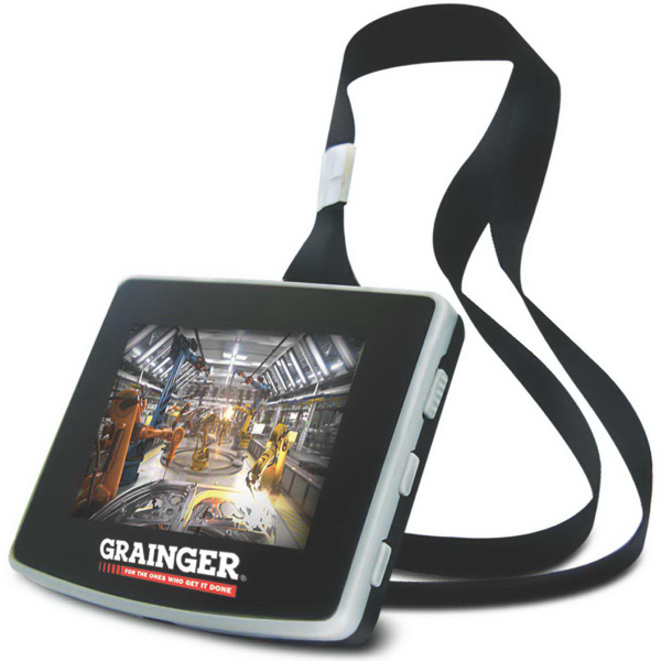 Imprinted Video Lanyard Badge