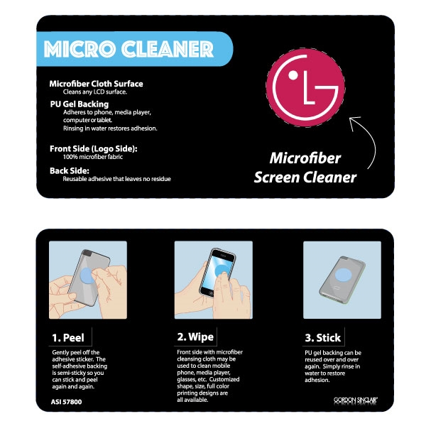 Custom Micro cleaner for electronic devices