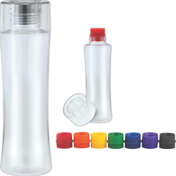 Imprinted Simplicity 24 oz Tritan plastic water bottle