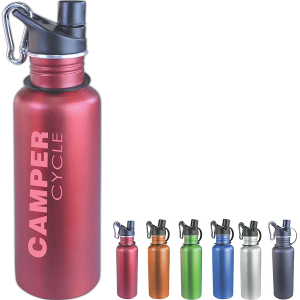 Custom Arctic 24 oz Aluminum Sport Bottle