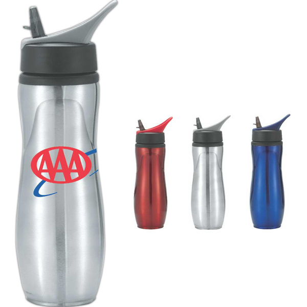 Imprinted Saratoga 28 oz Sports Bottle