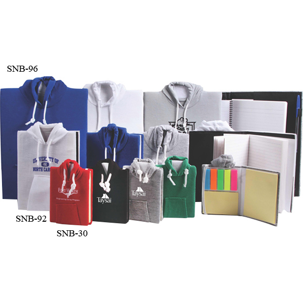Promotional Mini Sticky notebook hoodie