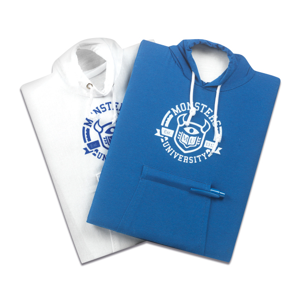 Promotional College Hoodie Notebook