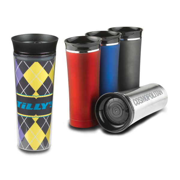 Promotional Empire 18/8 vacuum sealed stainless steel tumbler