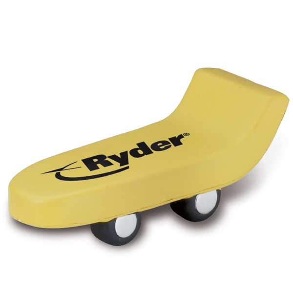 Promotional Skateboard Stress Reliever