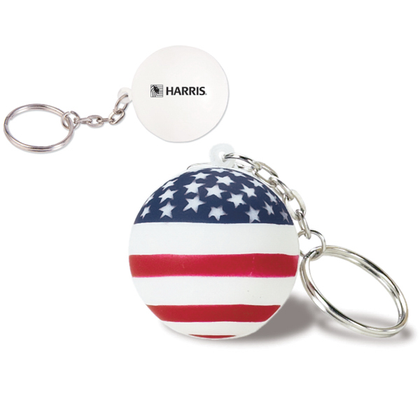 Custom USA Ball SB Keychain