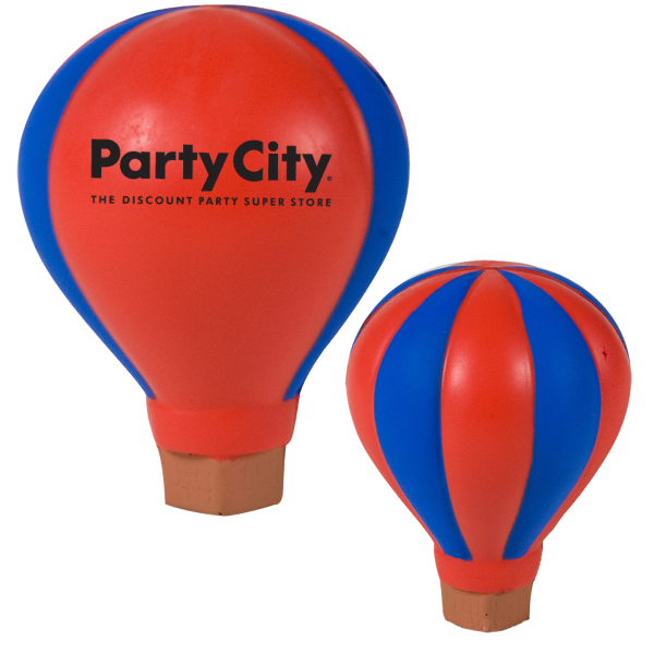 Printed Hot Air Balloon Stress Reliever