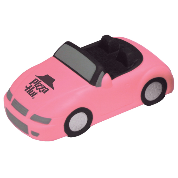 Personalized Sports Car Convertible-Pink Only