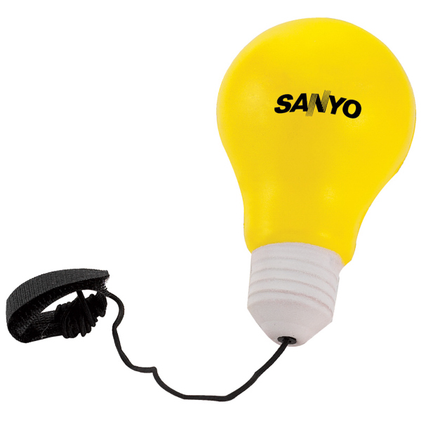 Personalized Light Bulb Yo-Yo Stress Reliever