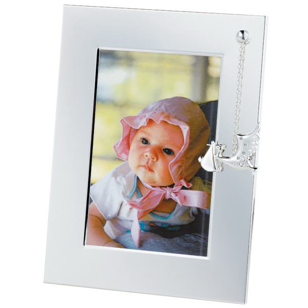 Promotional Silver Plated Stork Picture Frame