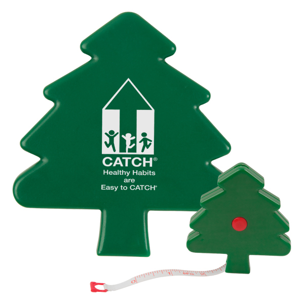 Promotional Christmas Tree Tape Measure