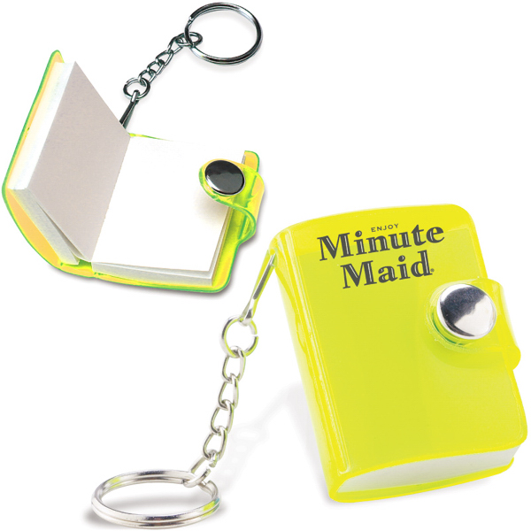 Customized Notepad Keychain