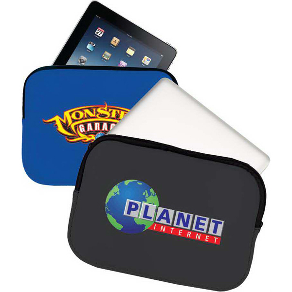 Custom Dani zippered protective sleeve for iPad/netbook/laptop