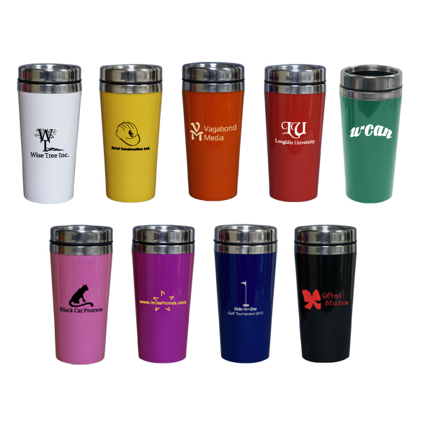 Custom 14oz. / 414ml Stainless Steel Coffee Tumbler