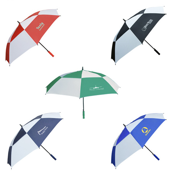 Printed Double Canopy Golf Umbrella