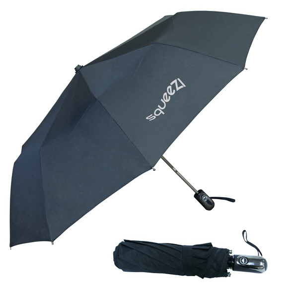 Imprinted 3-Fold Auto Open Umbrella