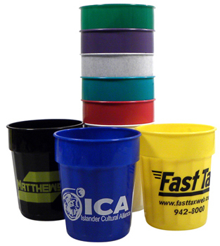 Customized 16 oz Fluted Stadium Cup