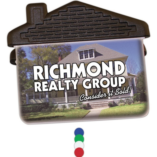 Personalized House Magnetic Clip