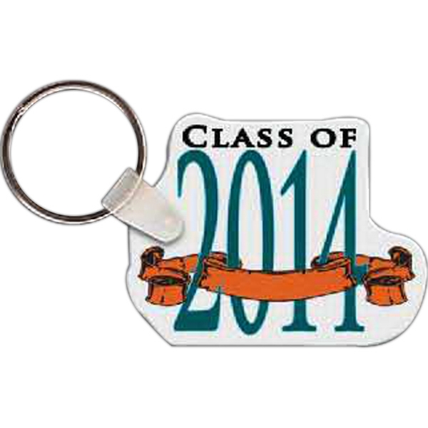 Imprinted Class of 2014 Key Tag