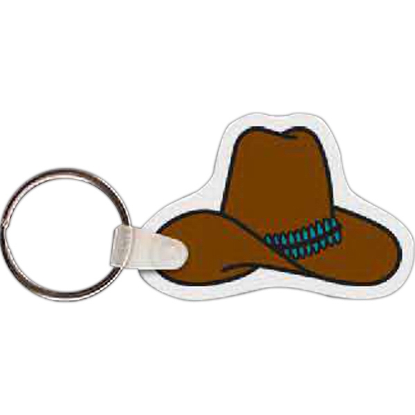 Customized Cowboy Hat Key Tag