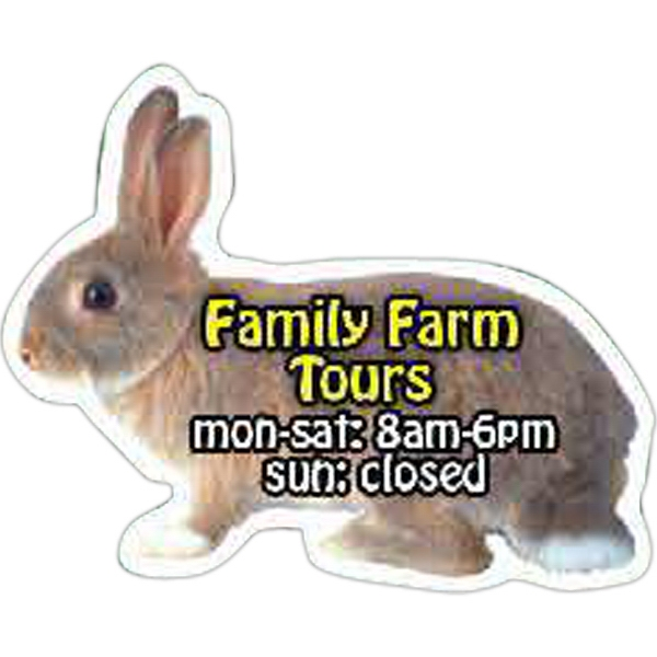 Promotional Rabbit Magnet