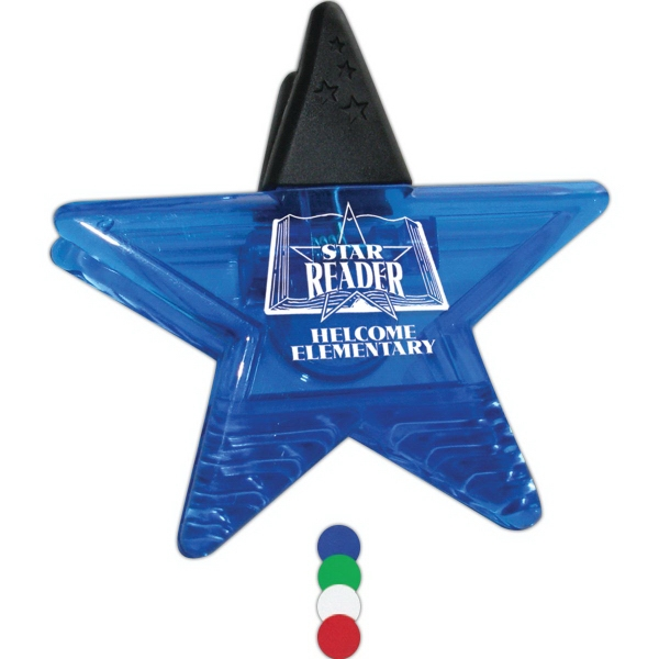 Promotional Star Magnetic Clip