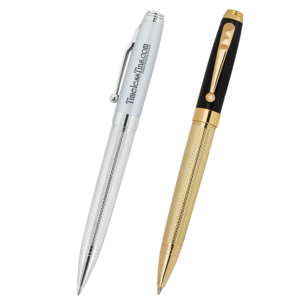 Imprinted Excalibur (R) Brass Twist Ballpoint