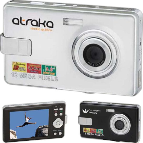Imprinted Panoramic 12.0 MP Digital Camera