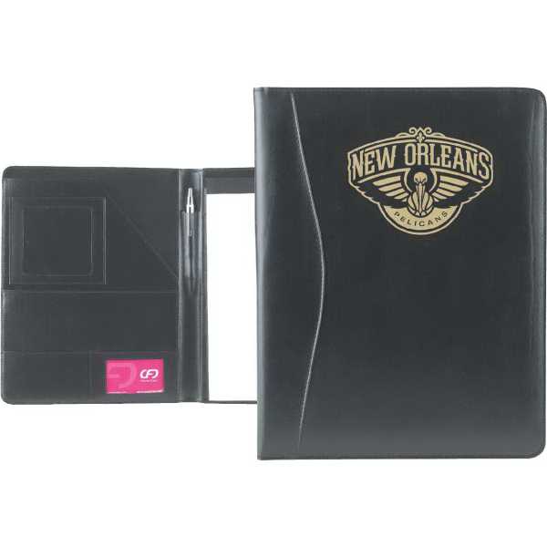 Customized Monarch (R) Leather Padfolio