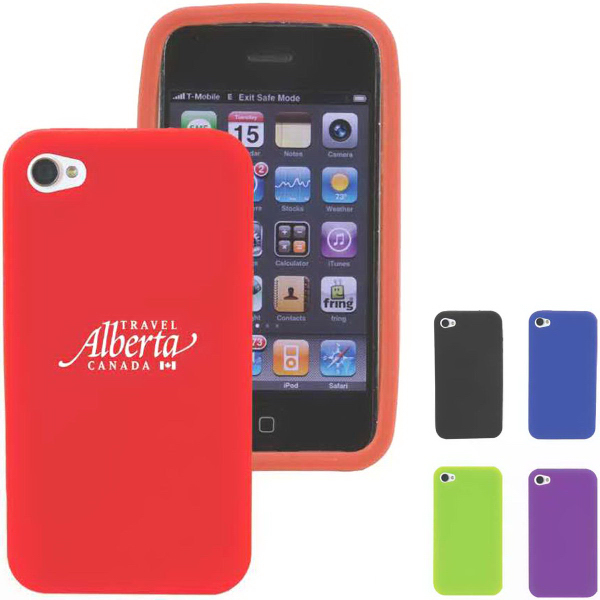 Personalized Silicone Shell for iPhone 4S