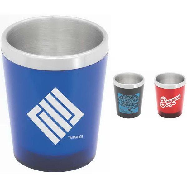 Imprinted Cocktail 7 oz Double-Walled Tumbler