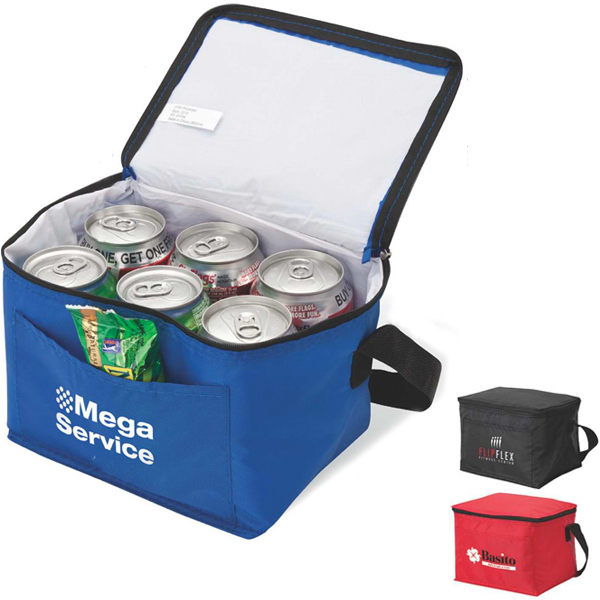 Imprinted 6-Can cooler