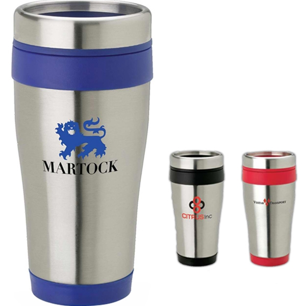 Imprinted 14 oz Stainless steel tumbler