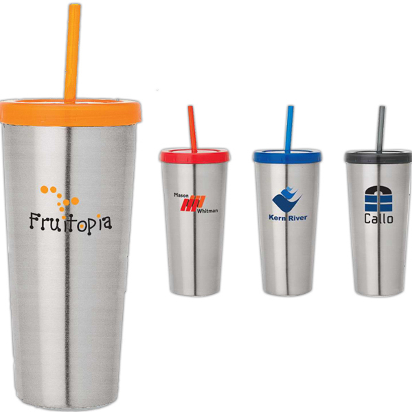 Imprinted 16 oz Double wall tumbler