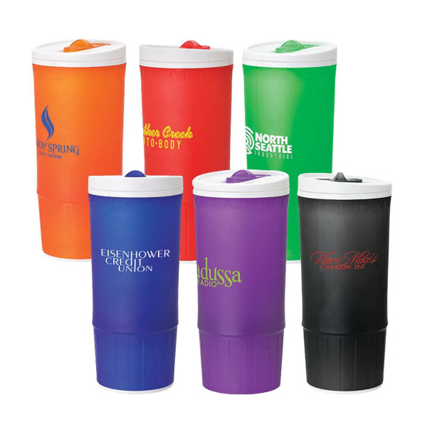 Printed 20 oz Double wall PP tumbler