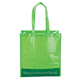 Printed Laminated Shopper Tote Bag