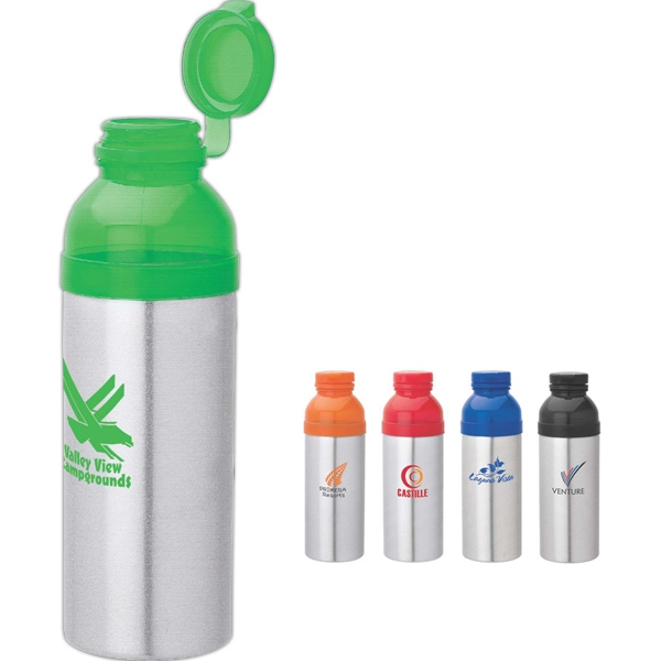 Promotional 25 oz. Aluminum water bottle