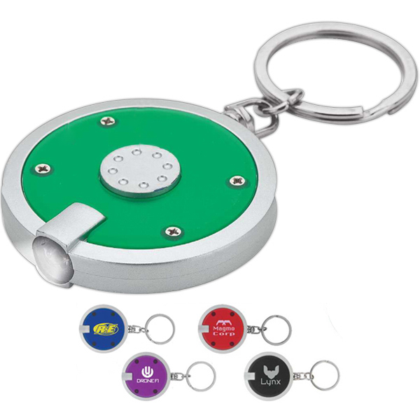 Promotional Flashlight Keyring