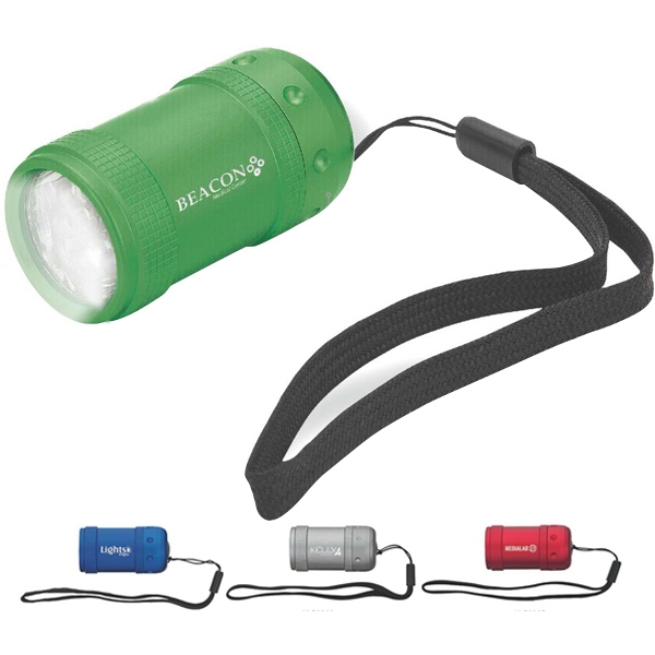 Imprinted 6-LED Flashlight