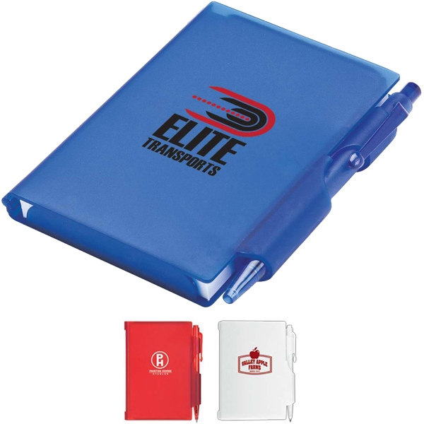 Promotional Notepad and pen