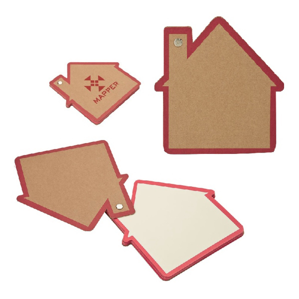 Customized Recycled House Notepad