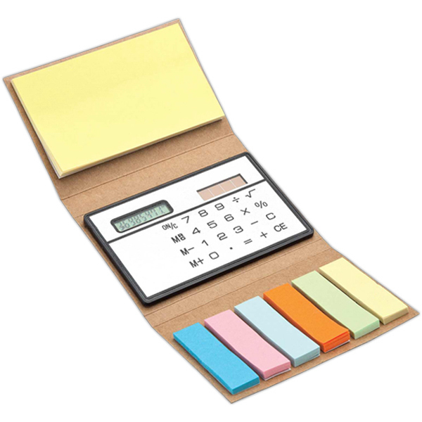 Custom Flags and calculator booklet