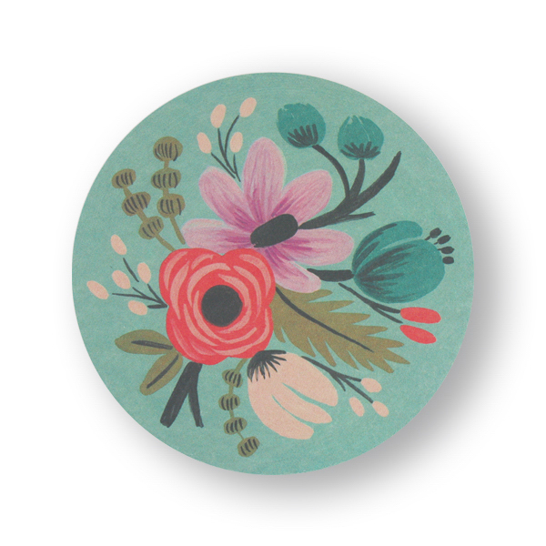 Imprinted Pulp-Board Coasters 4 inches round