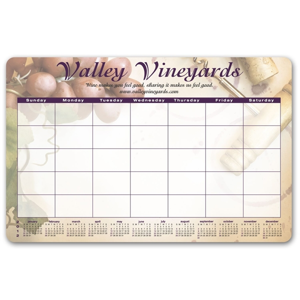 Customized Ultra-thin Counter Mat/Wall Calendars