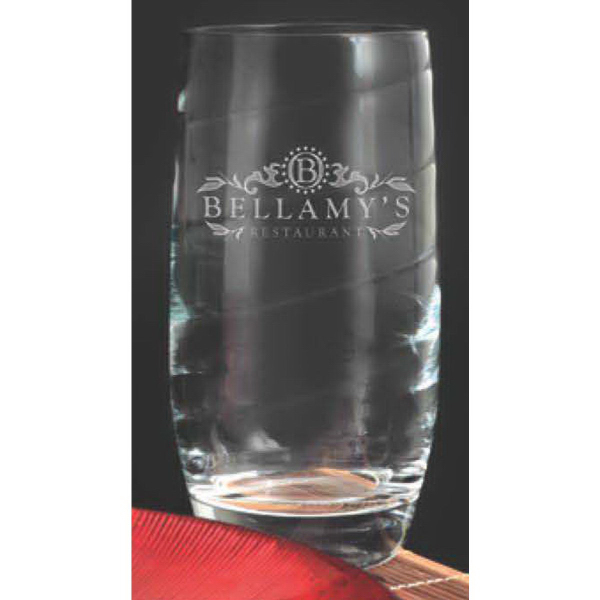 Imprinted Romantica Beverage Glass