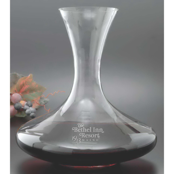 Printed Crescendo Decanter