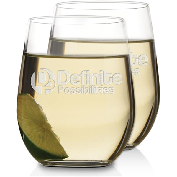 Imprinted Chardonnay Wine Glasses - Set of 2